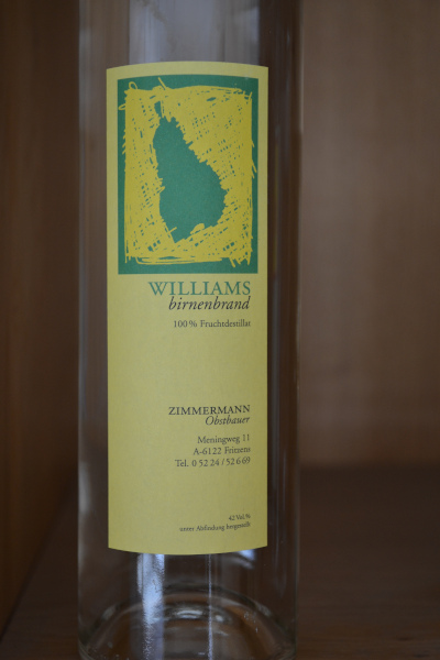 Williams schnaps 400